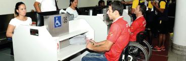 Santos Dumont realiza simulado de acessibilidade para Olimpíadas 368-x-122
