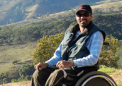 Cadeirante realiza sonho e voa de parapente em Passa Quatro, MG 172-x-122
