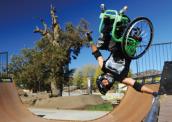 Cadeirante dá salto duplo mortal: 'é mais do que medo, é como se eu fosse morrer' 172-x-122