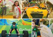 """Criançada pode conferir esportes e """"brincar de atleta"""" no Via Parque da Barra até o dia 12 172-x-122"""
