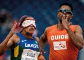 Projeto de pesquisadores amazonenses 'elimina' figura do guia em provas de atletismo paralímpico. Foto: Daniel Zappe/CPB 255-x-270