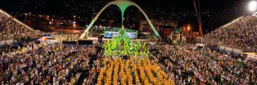 Sistema de audiodescrição estará disponível para deficientes visuais nos dias de desfile das Escolas de samba do Grupo Especial no Desfile das CampeãsTania Rego/Agência Brasil 368-x-122