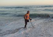 Ela completou a São Silvestre de muletas. Virou velejadora e quer ganhar medalhas para o país 172-x-122