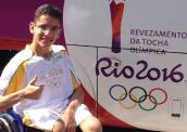 Revezamento da Tocha Olímpica 2016