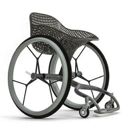 Cadeira de rodas inteligente impressa em 3D
