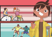 Livro infantil e Paralimpíadas