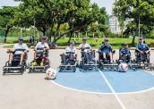 Cadeiras de rodas de última geração no esporte