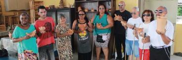 """""""Voando"""" na imaginação: Pessoas com deficiência visual de São Gonçalo vão inaugurar exposição"""