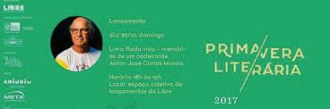 17ª PRIMAVERA LITERÁRIA DO RIO DE JANEIRO
