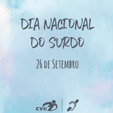 Capa Dia Nacional do Surdo