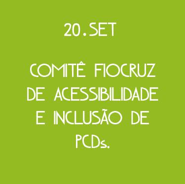 Capa da Fiocruz pela Acessibilidade e Inclusão