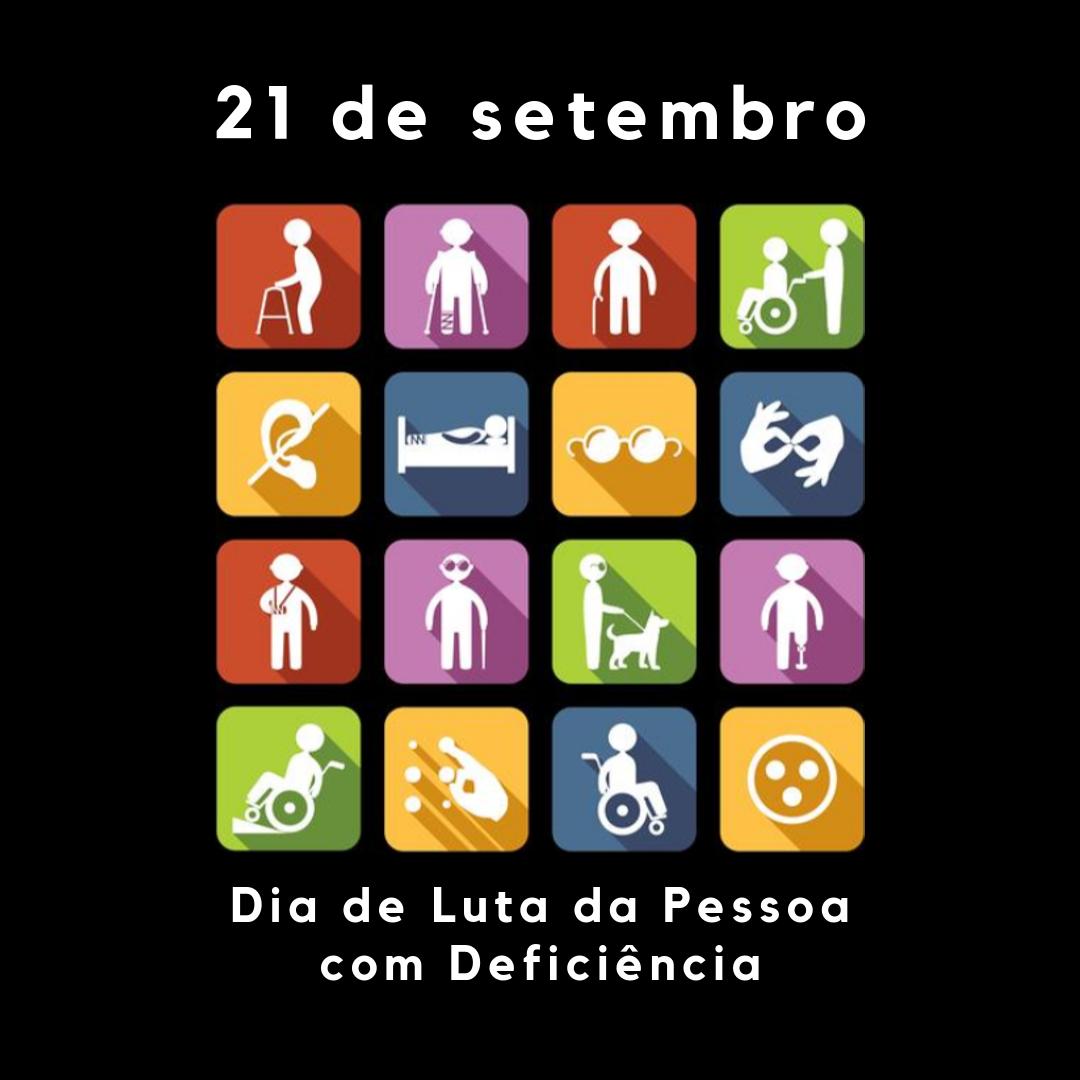 Imagem sobre Dia Nacional de Luta da Pessoa com Deficiência