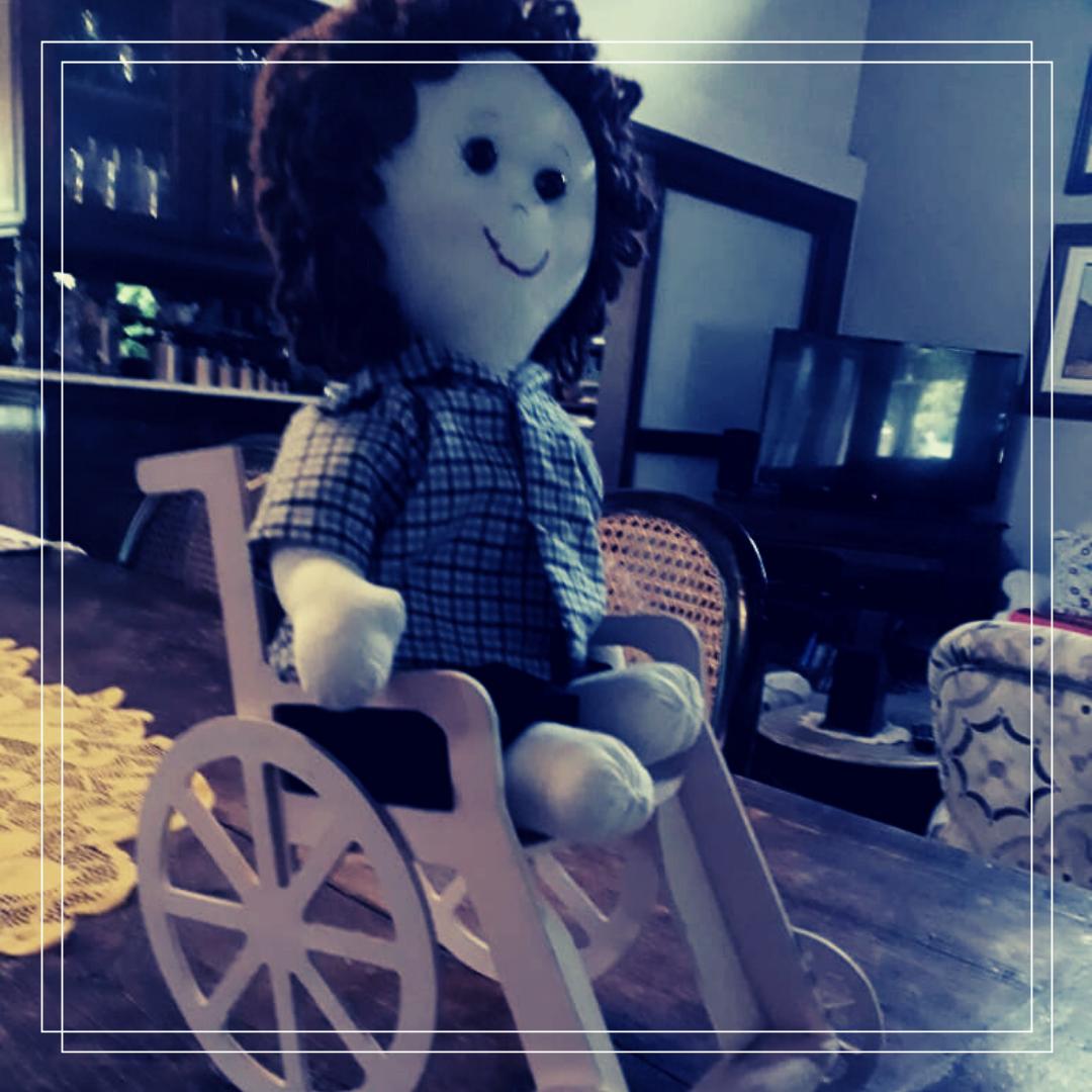 Foto de Brinquedos inclusivos com Sônia Arts