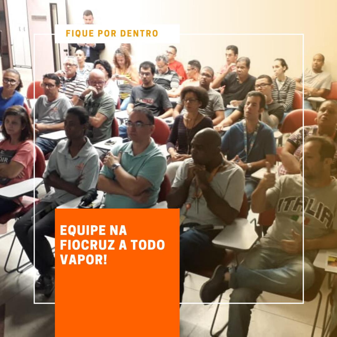 Foto de Fiocruz promove palestras de prevençao a doenças