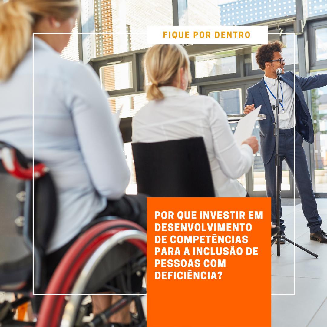 Foto de Por que investir em desenvolvimento de competências para a inclusão de pessoas com deficiência?