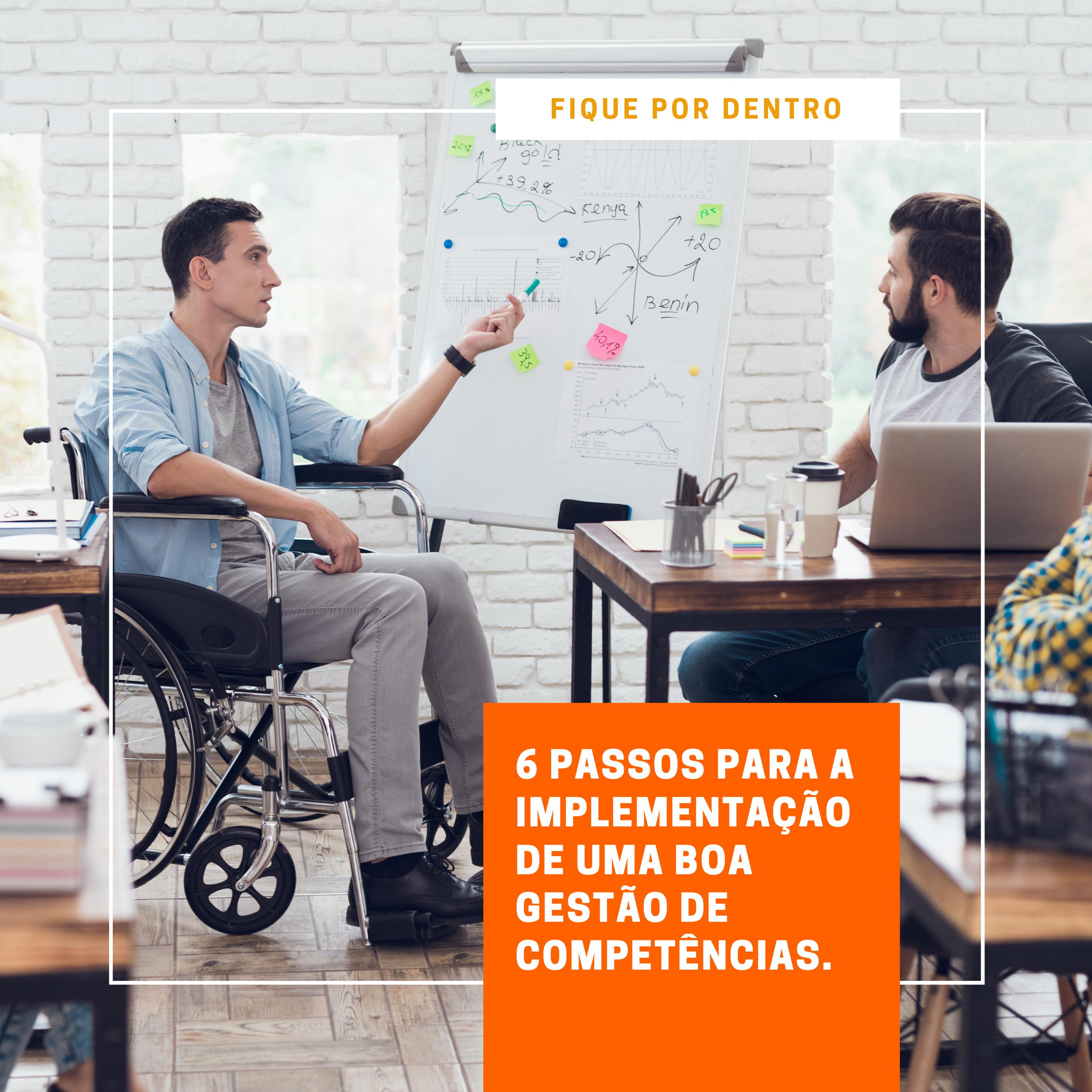 Foto de 6 passos para a implementação de uma boa gestão de competências