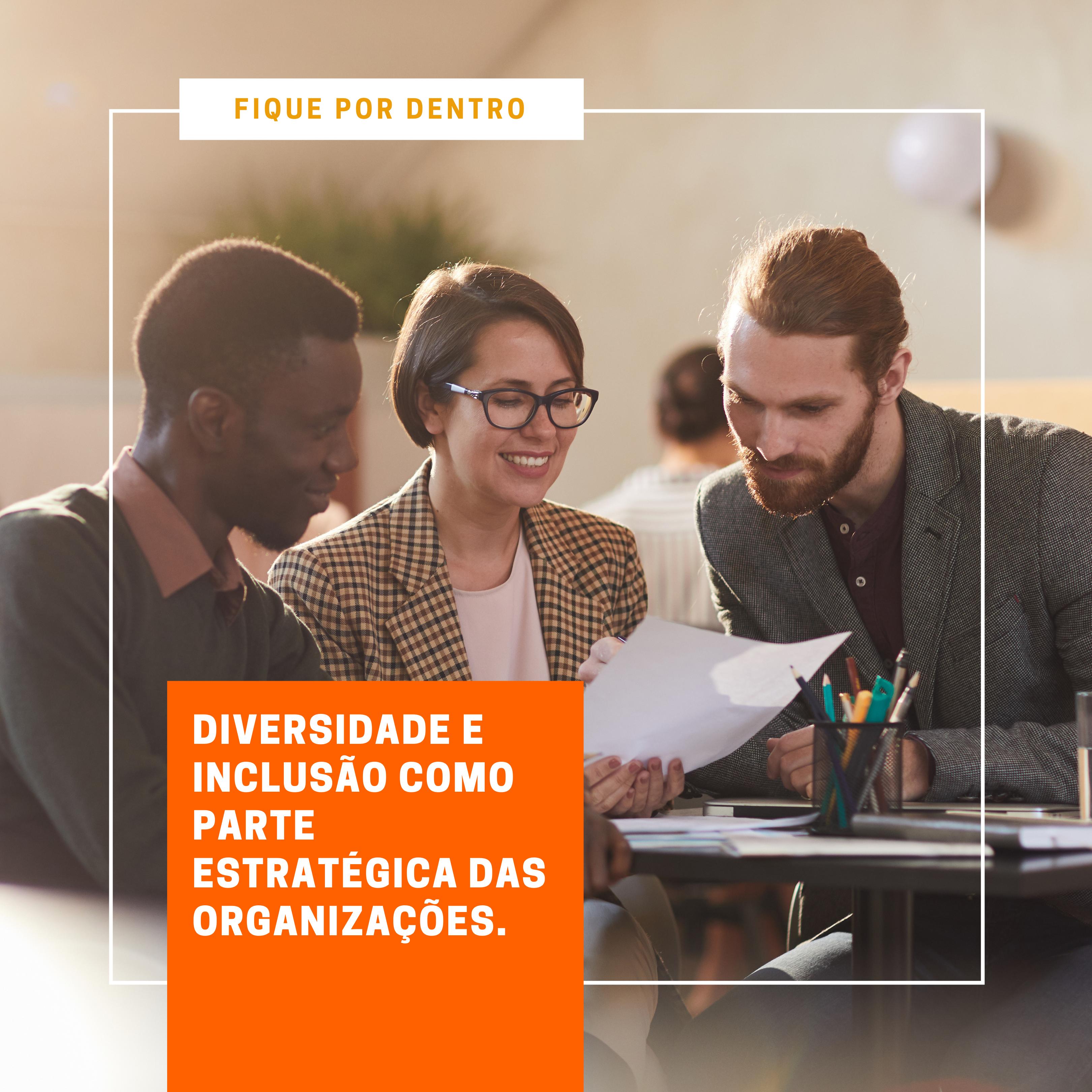 Foto de Diversidade e inclusão como parte estratégica das organizações